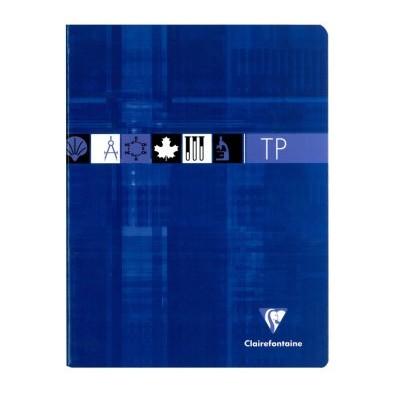 Cahier TP Travaux Pratiques 17x22cm 80 pages Uni + Grands Carreaux