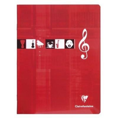 Cahier Musique et Chant 17x22cm 56 pages