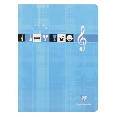 Cahier Musique et Chant 24x32cm 48 pages