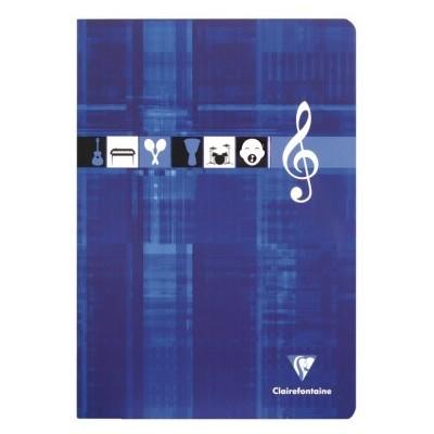 Cahier Musique et Chant 21x29,7cm A4 48 pages