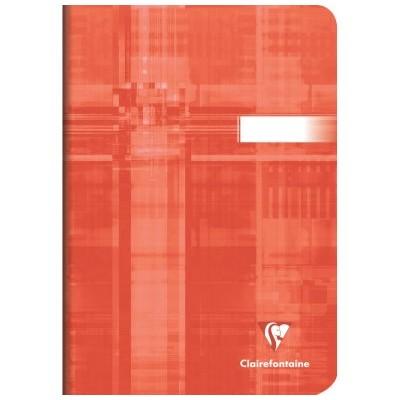 Carnet classique 14,8x21cm A5 96 pages grands carreaux