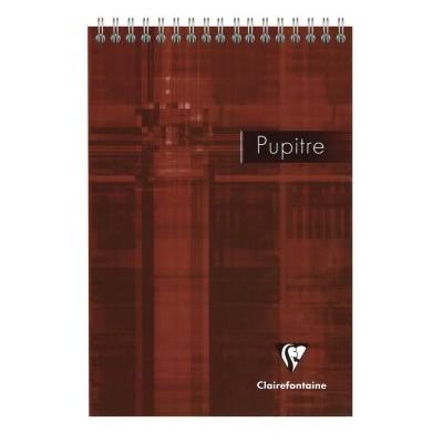 Carnet Bloc Pupitre spirale 14,8x21cm A5 160 pages détachables petits carreaux 5x5