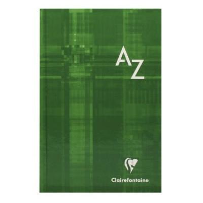 Répertoire A-Z rigide 11x17cm 96 pages petits carreaux 5x5