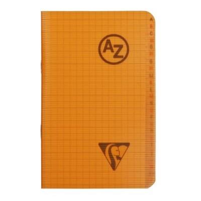 Répertoire A-Z couverture plastique 9x14cm 96 pages petits carreaux