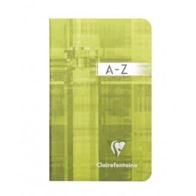 Répertoire A-Z classique 9x14cm 96 pages petits carreaux 5x5