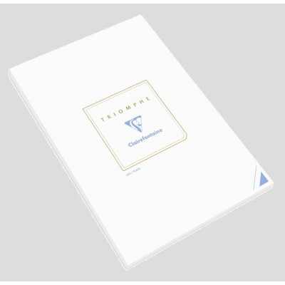 Bloc de correspondance 21x29,7cm A4 Uni Blanc 50 feuilles