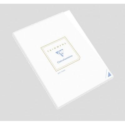 Bloc de correspondance 14,8x21cm A5 Uni Blanc 50 feuilles