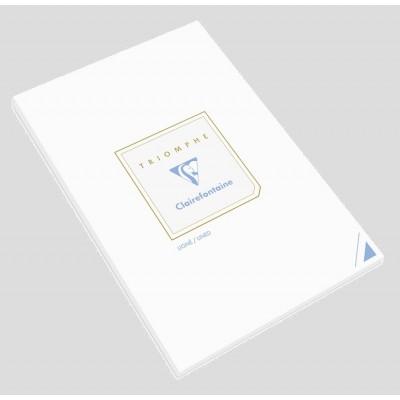 Bloc de correspondance 21x29,7cm A4 Ligné Blanc 50 feuilles