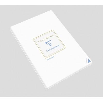 Bloc de correspondance 14,8x21cm A5 Ligné Blanc 50 feuilles