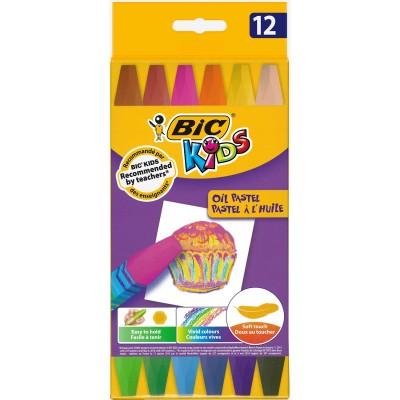 Pastel à l'huile BIC Etui de 12