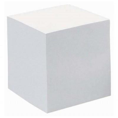 Bloc Cube Recharge Papier Blanc 90g - 9 x 9 x 7,5 cm - 590 feuilles