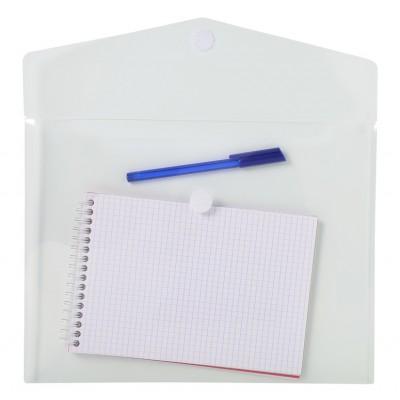 Pochettes enveloppes plastique incolore transparent Paquet de 5 - A4