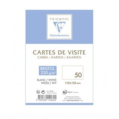 Cartes de Correspondance et de Visite paquet de 50 - 110 x 155 mm 220g