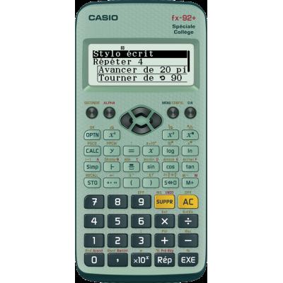 Calculatrice scientifique Casio FX 92 + Spécial Collège
