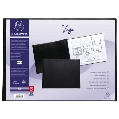 Lutin Porte-vues A3 40 Vues PVC 29,7 x 42 cm