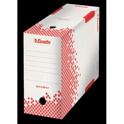 Boîte d'archive Dos 150 mm carton ondulé - 25 x 35 x 15 cm