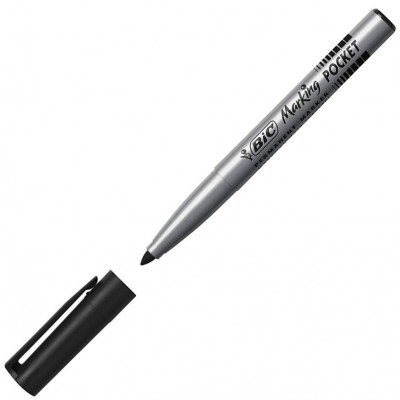 Marqueur Permanent BIC MARKING POCKET 1445 Pointe ogive moyenne 4,2 mm