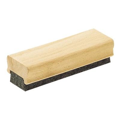 Brosse Effaceur pour Tableau Craie Eponge Corps en bois