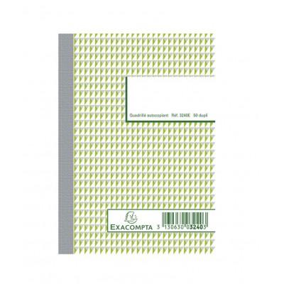 Carnet autocopiant dupli 10,5 x 14,8 cm Format A6 - 50 feuillets