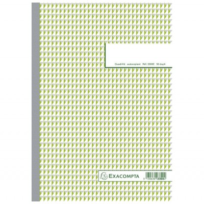 Carnet autocopiant dupli 21 x 29,7 cm Format A4 - 50 feuillets
