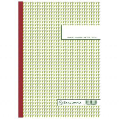 Carnet autocopiant tripli 21 x 29,7 cm Format A4 - 50 feuillets