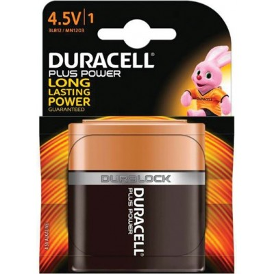 Pile LR12 MN1203 4.5 V Duracell Plus Power