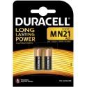Pile MN21 A23 / 23A 12 V Duracell Pack de 2
