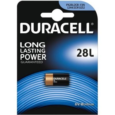 Pile 28L 6 V Duracell Lithium pour Appareils photo numériques