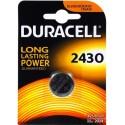 Pile bouton 2430 3V Duracell