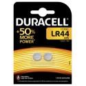 Pile bouton LR44 A76 1,5 V Duracell Pack de 2