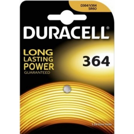 Pile pour Montre 364 1,5 V Duracell