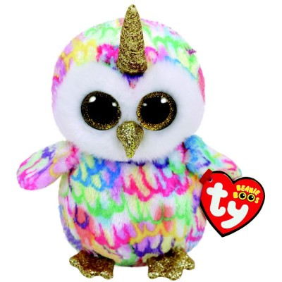 BEANIE BOO'S SMALL ENCHANTED LE HIBOU LICORNE