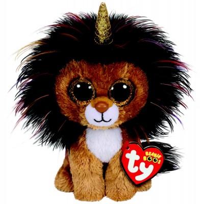 BEANIE BOO'S SMALL RAMSEY LE LION LICORNE