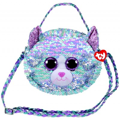 SAC A BANDOULIERE SEQUINS - WHIMSY LE CHAT