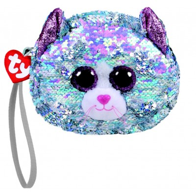 PORTE MONNAIE SEQUINS - WHIMSY LE CHAT