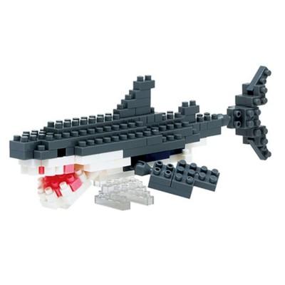 Nanoblock Grand Requin Blanc - 130 pièces - Difficulté 3/5