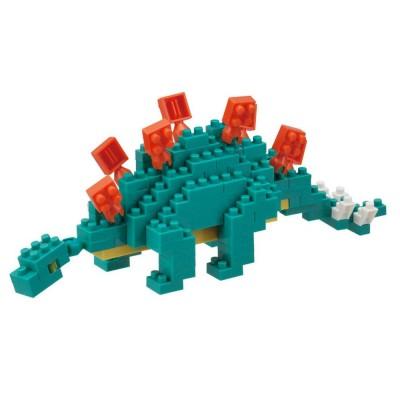 Nanoblock Stegosaurus - 240 pièces - Difficulté 2/5