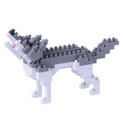 Nanoblock Loup - 130 pièces - Difficulté 2/5