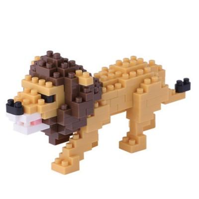 Nanoblock Lion - 140 pièces - Difficulté 2/5