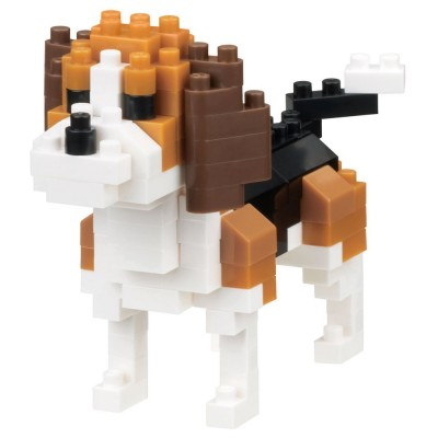 Nanoblock Beagle - 130 pièces - Difficulté 2/5