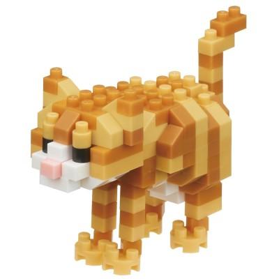 Nanoblock Chat tigré - 130 pièces - Difficulté 3/5