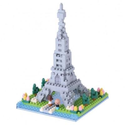 Nanoblock Tour Eiffel - 310 pièces - Difficulté 2/5