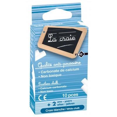 Craie Blanche anti-poussière Boîte de 10