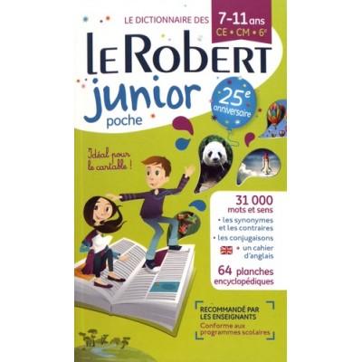 Le Robert junior poche - 7-11 ans CE-CM-6e