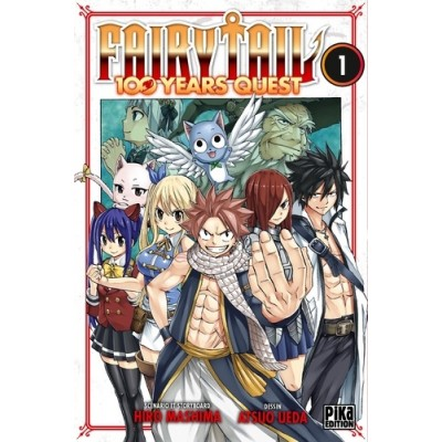 Fairy tail - 100 years quest - Tome 1 - Hiro Mashima