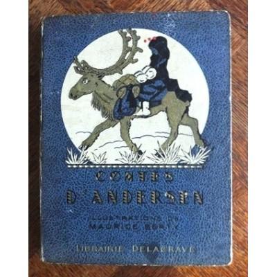 Contes d'Andersen - Librairie Delagrave Paris 1949