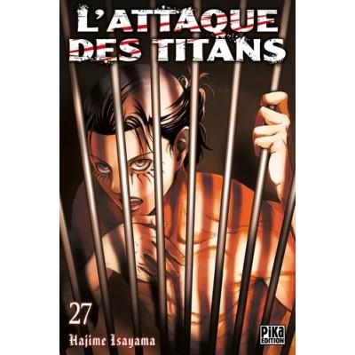 L'attaque des titans Tome 27 - Hajime Isayama