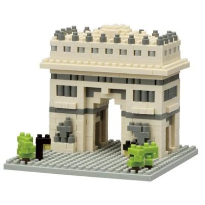 Nanoblock Arc de Triomphe Paris - 480 pièces - Difficulté 2/5