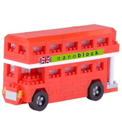 Nanoblock London Bus - 350 pièces - Difficulté 2/5