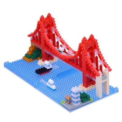 Nanoblock Golden Gate Bridge San Francisco - 430 pièces - Difficulté 3/5